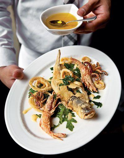 Fritto Misto (Fried Squid, Fish, and Shrimp) Recipe - Saveur.com