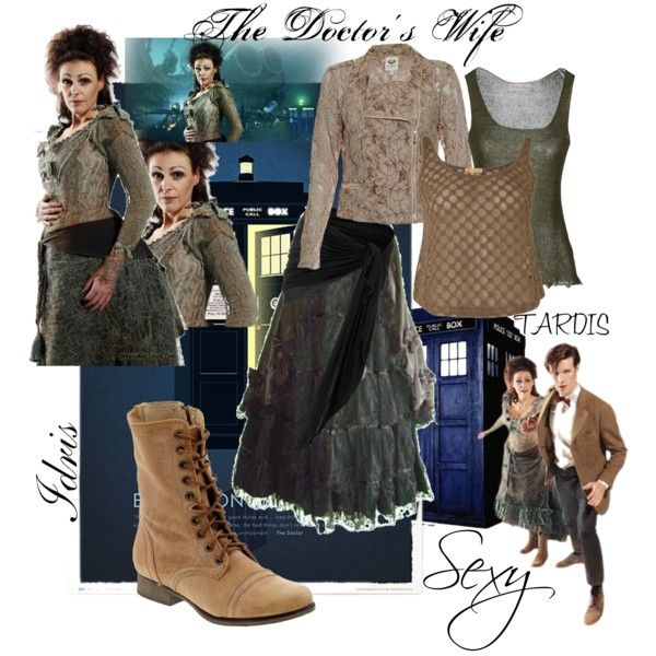 """""""The Doctor's Wife, Idris (Doctor Who)"""" by mitzy789 on Polyvore"""
