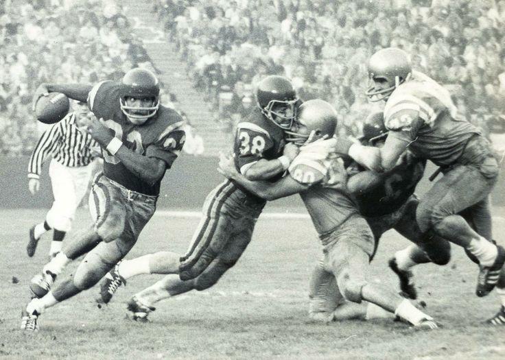 OJ Simpson, 1968 USC-UCLA Game, Coliseum.