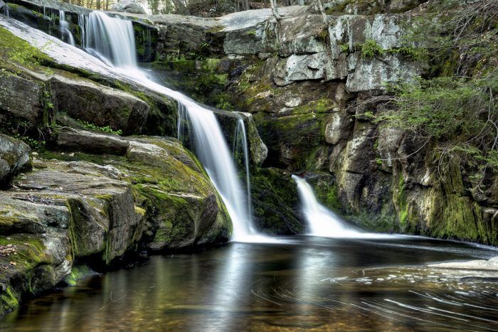 7. Enders Falls (Granby) & other gorgeous waterfalls in CT...Yiantic Falls (Norwich), Diana's Pool (Chaplin), Kent Falls (Kent), Wadsworth (Middlefield), Roaring Brook Falls (Cheshire), Southford Falls (Southford), Enders Falls (Granby), Campbells Falls (Norfolk), Mill Pond Falls (Newington), Great Falls (Falls Village), Buttermilk Falls (Plymouth), Westfield Falls (Middletown), Chapman Falls (East Haddam)