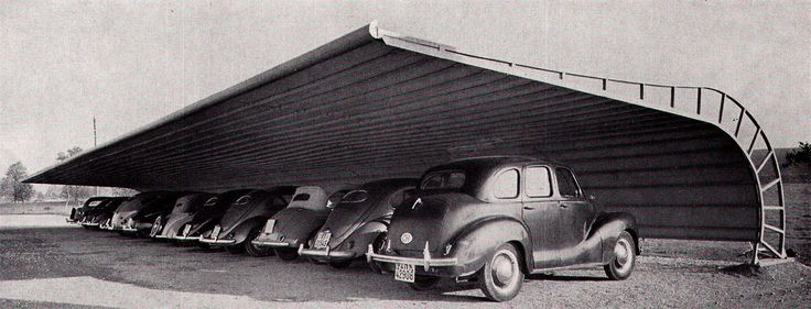 "elarafritzenwalden: "" Prefabricated car shelter by Wartmann AG, Brugg (photographs by Beringer & Pampaluchi) """