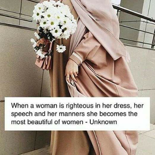 Respected beautiful women.