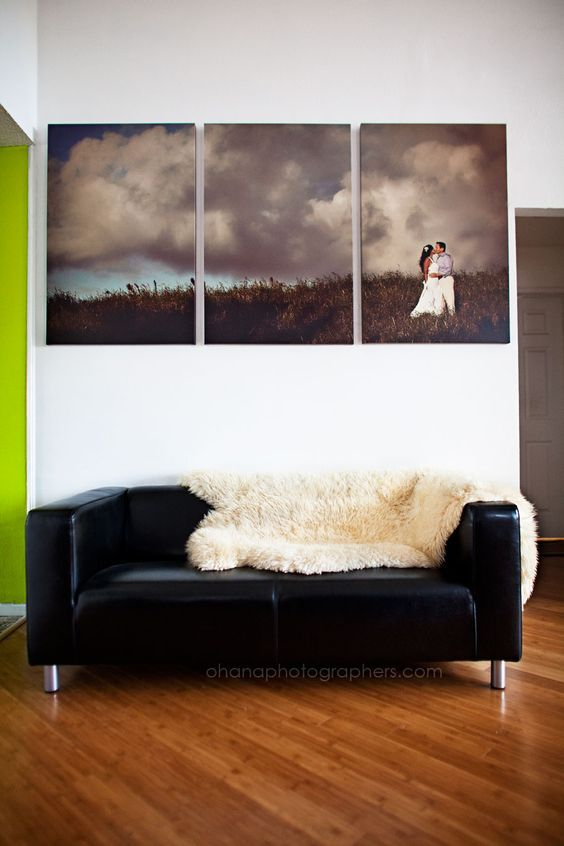 Family Photo Canvas for a Personalized Home Experience