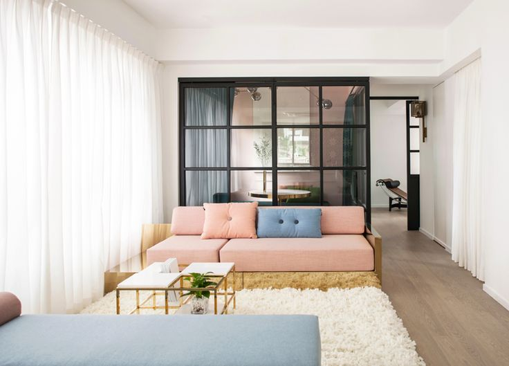 the remodeled space also doubles as the pair's showroom for their latest furniture collection.