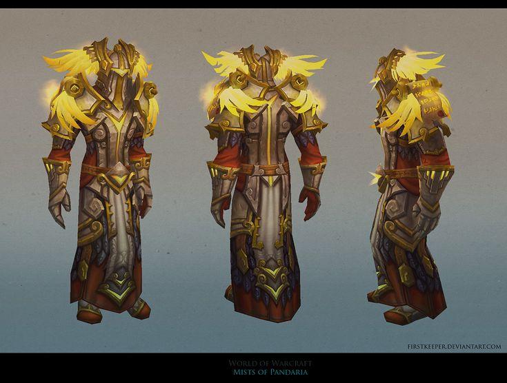 MoP Paladin armor by FirstKeeper.deviantart.com on @deviantART