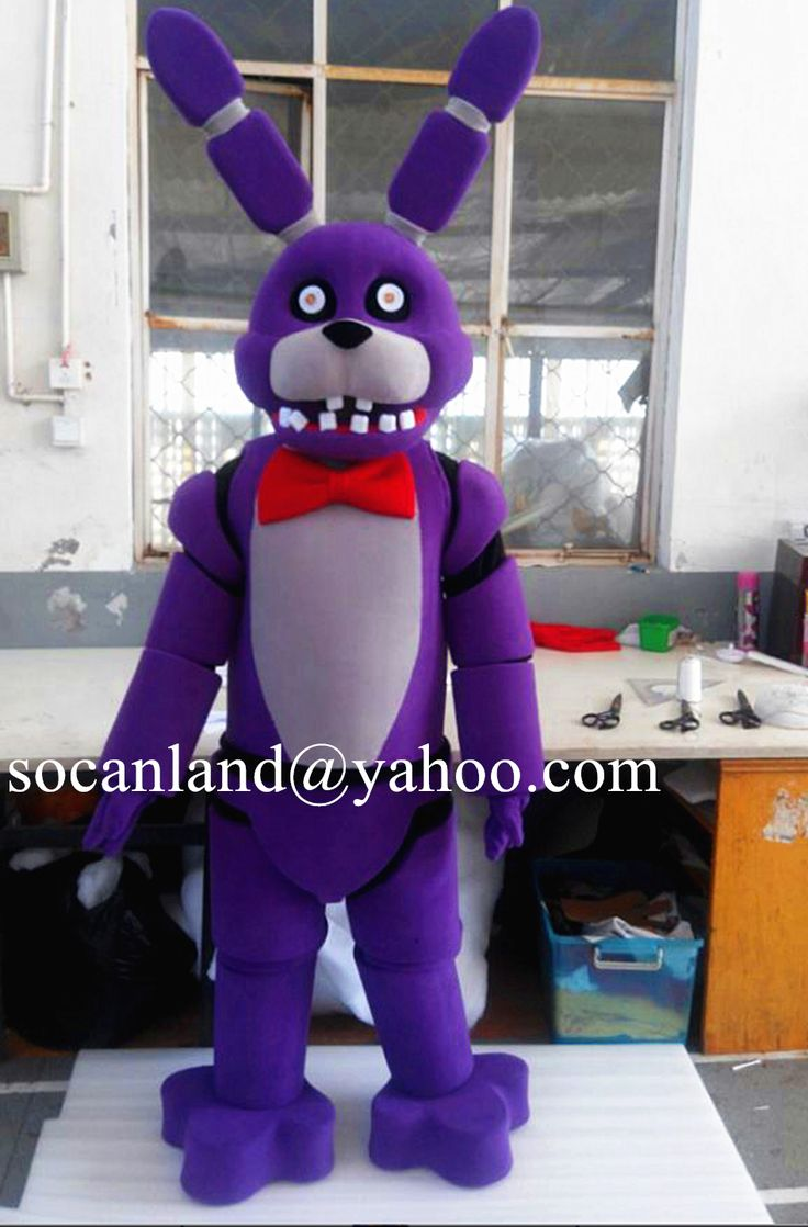 F fnaf bonnie costume for sale - Toy Bonnie Mascot Costume From Five Nights At Freddy S Toy Bonnie Cosply Costumes For Halloween