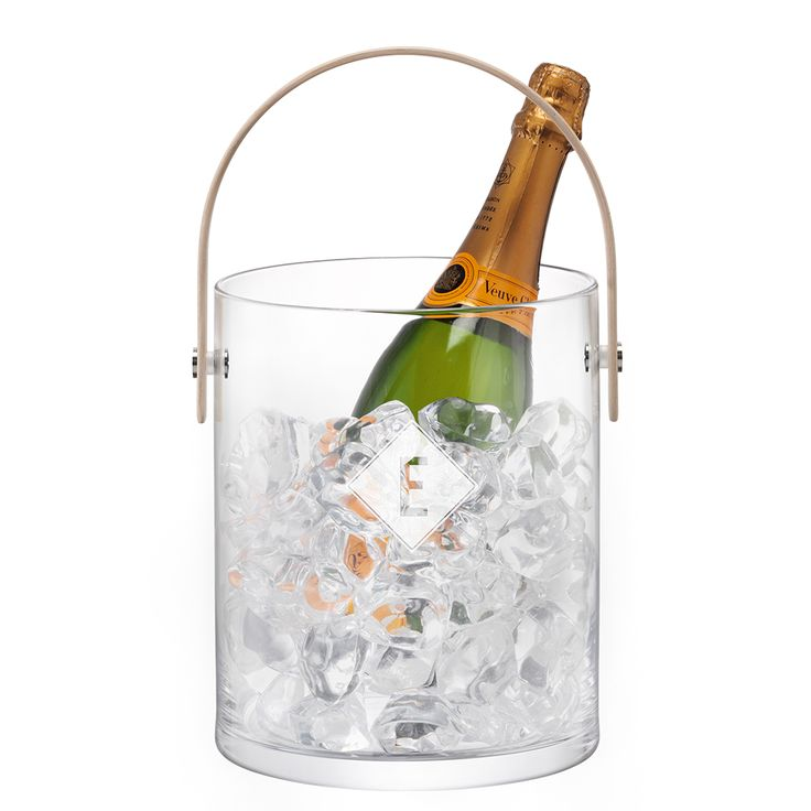 Stunning hand-made LSA International Ice Bucket. Perfect as a storm lantern or light display too.