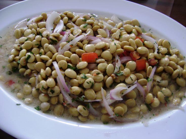 Lupini Beans Ceviche from Peru | Λουμπούνια Σεβίτσε από το Περού