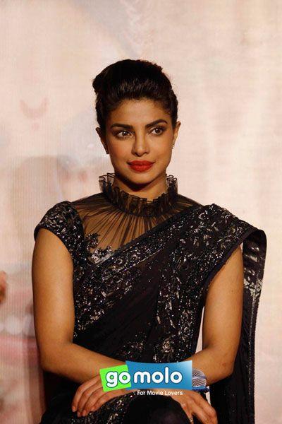 Priyanka Chopra at the Promotion of Hindi movie 'Bajirao Mastani' at PVR ICON in Versova, Mumbai
