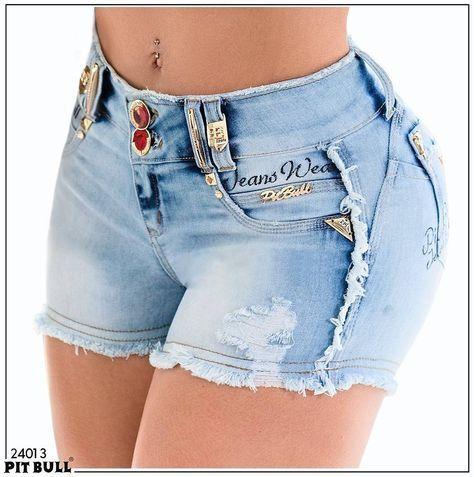 Shorts PIT BULL JEANS Siga no Instagram @pitbulljeans - Informações: WhatsApp +55 62 99568-5111 INBOX- CHAT SITE - Ref: 24013 #tendência #jeans #lindo #detalhes #efeitos #estilo #pitbulljeans #modelagemperfeita