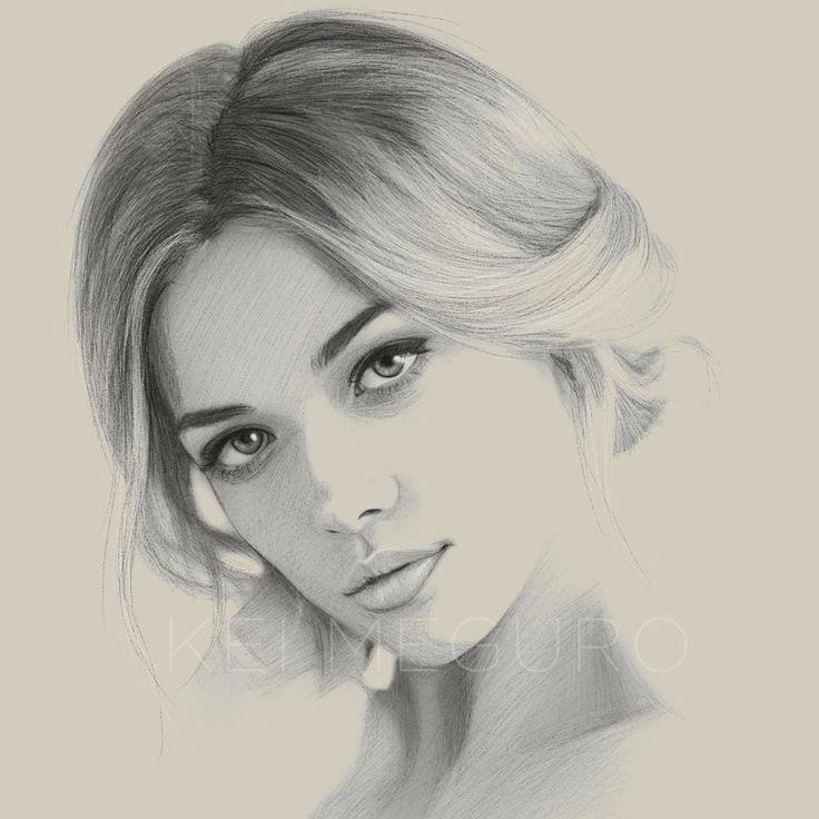 Kei Meguro | Illustrations I really like: Portraits ...