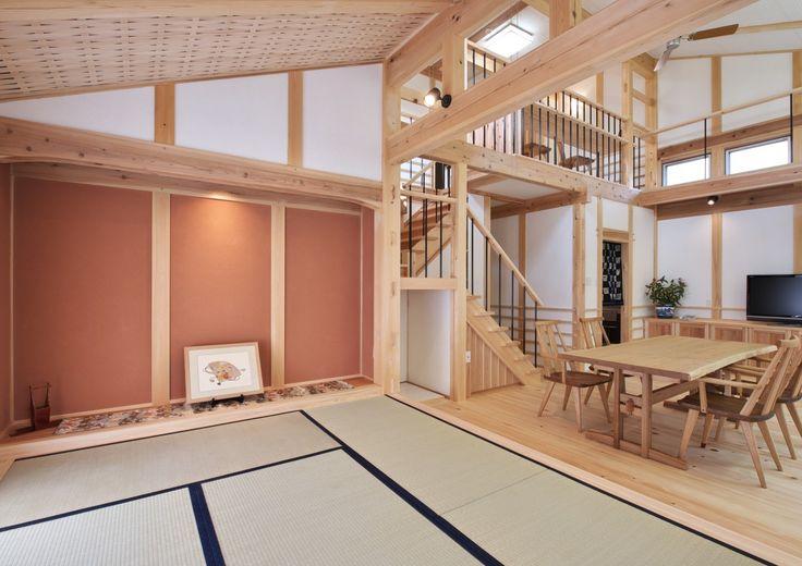 木組み・土壁の家 - タテの家 | SSD建築士事務所株式会社 | 愛知県瀬戸市,名古屋市 | 三重県津市