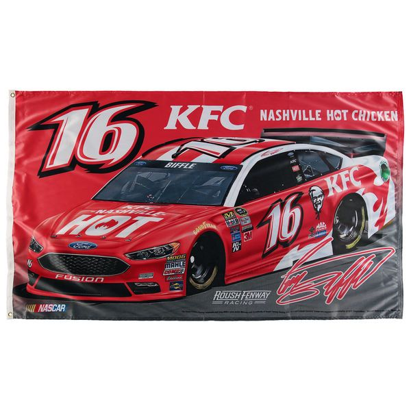 WinCraft Greg Biffle Single-Sided Deluxe 3' x 5' Flag - $22.99