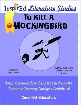 a literary analysis of the stylistic elements in to kill a mockingbird by harper lee To kill a mockingbird harper lee table of contents plot overview summary & analysis part one to kill a mockingbird (sparknotes literature guide series.