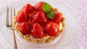 Rezept Erdbeertörtchen / Erdbeertartelettes