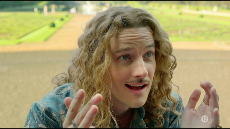 The amazing Evan Williams as Chevalier de Lorraine in season 2 of the canal+ series Versailles