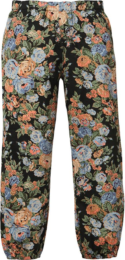 Supreme Flower Pants Small