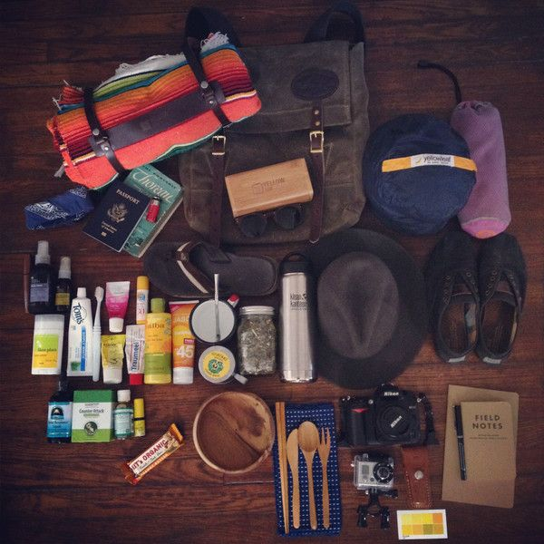 Beach camping light.  Just the eco essentials.  How to pack for a beach camping trip. #campvibes | Yellow108 | Sustainable Headwear + Accessories - Yellow108