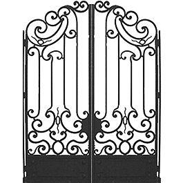 Arte de Mexico Architectural Elements-wrought iron gates