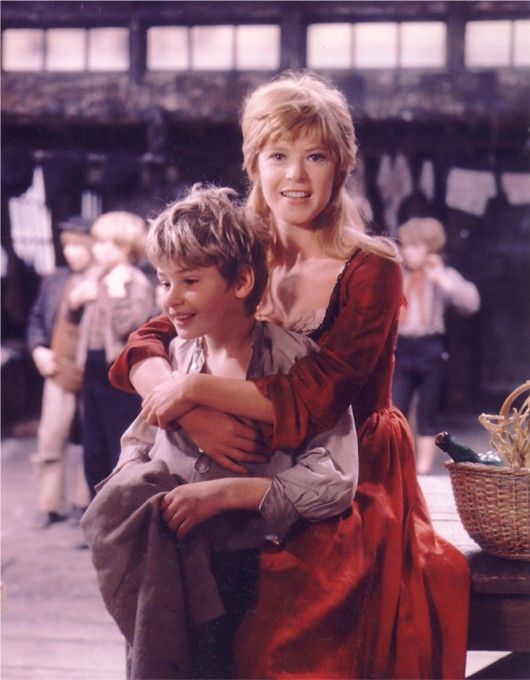 "♥ Mark Lester and Shani Wallis in ""Oliver!"". I loved this film so much ♥"