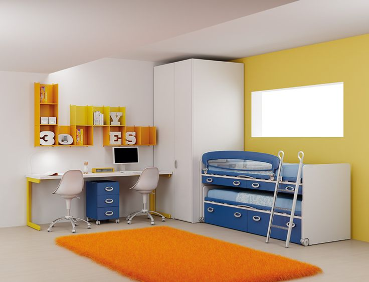 #Arredamento #Cameretta Moretti Compact: Catalogo Start Solutions 2013 >> LH26 http://www.moretticompact.it/start.htm