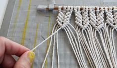 mini-macrame-wall-hanging - DIY | Parlor Diary