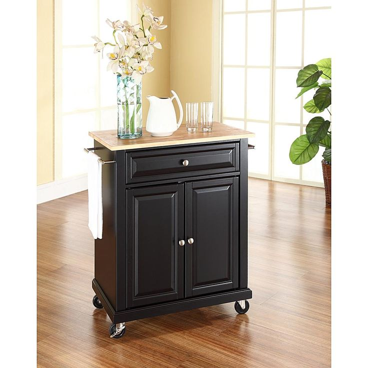 Furniture Beautiful Pine Wood Movable Kitchen Island With: 17 Best Ideas About Portable Kitchen Island On Pinterest