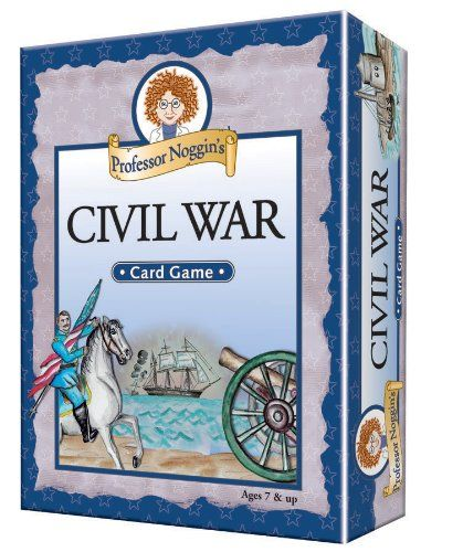 Educational Trivia Card Game  Professor Noggins Civil War -- Click image to review more details.Note:It is affiliate link to Amazon. #s4s