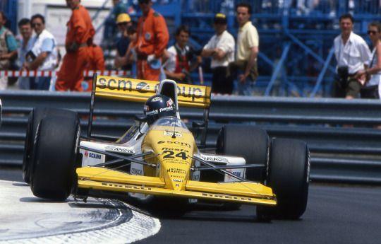 Paolo Barilla, Minardi-Ford M190, 1990 Monaco GP, Monte Carlo