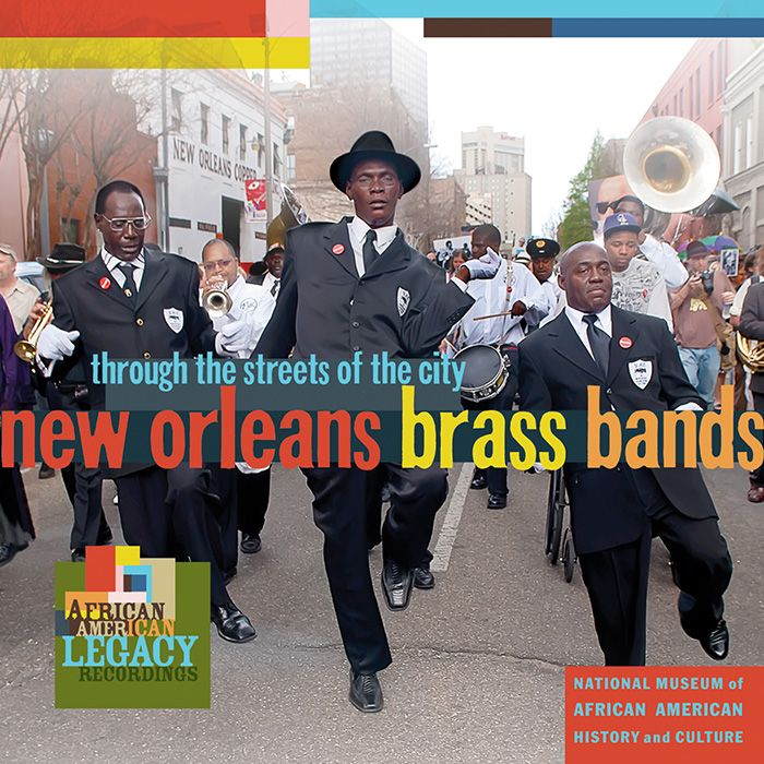 """The 15-track, newly recorded collection spans the full spectrum of New Orleans brass band music, both as it exists today and extending back through the tradition's history. Featured are the classic sound of the Liberty Brass Band, the modern-yet-traditional Treme Brass Band, and the funk, rap, and """"bounce"""" influenced Hot 8 Brass Band."""