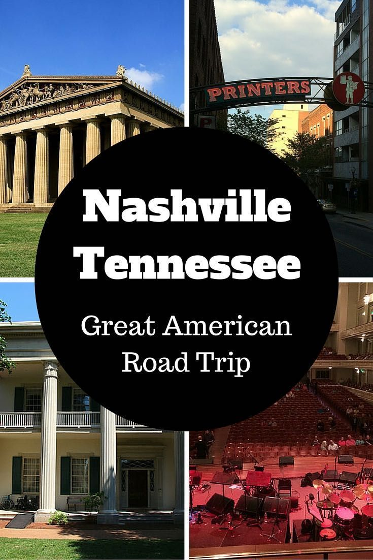Interactive Map Usa Road Trip%0A Nashville  Tennessee  Great American Road Trip