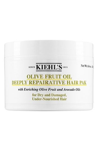 Kiehl's Since 1851 Olive Fruit Oil Repairing Hair Masque available at #Nordstrom
