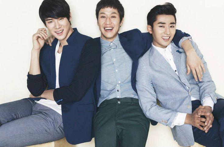 Yoo Yun Suk, Jung Woo, and Son Ho Joon for Trugen Spring/Summer 2014 Catalogue