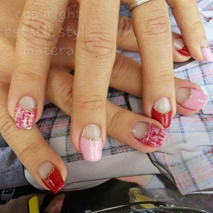 #rosso#rosa#tessuto#dorato#matera