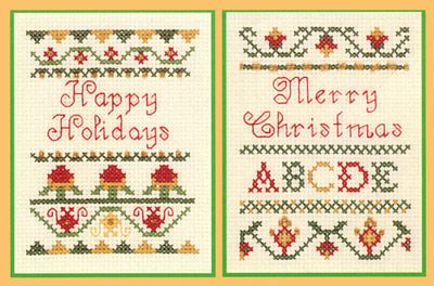 Cross Stich Christmas Stockings