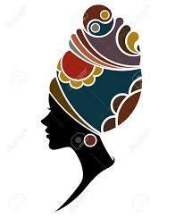 Resultado de imagen para siluetas de mujeres africanas