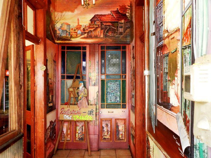 Café del Pintor Cerro Alegre