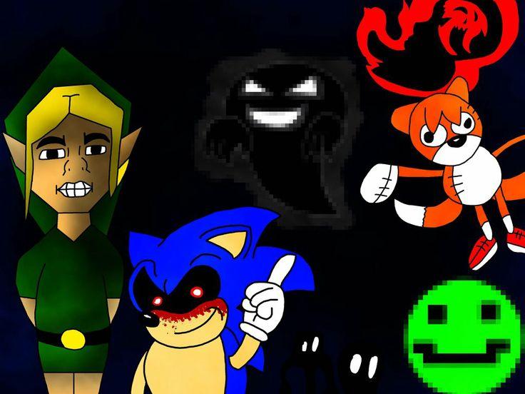 Gaming Creepypasta Ben Drowned Sonic.exe Ghost (Pokemon ...