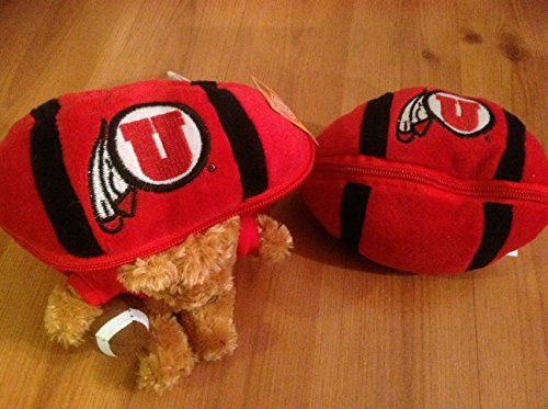 PLUSHLAND NCAA Utah Utes Football With Bear * Learn more by visiting the image link.Note:It is affiliate link to Amazon.