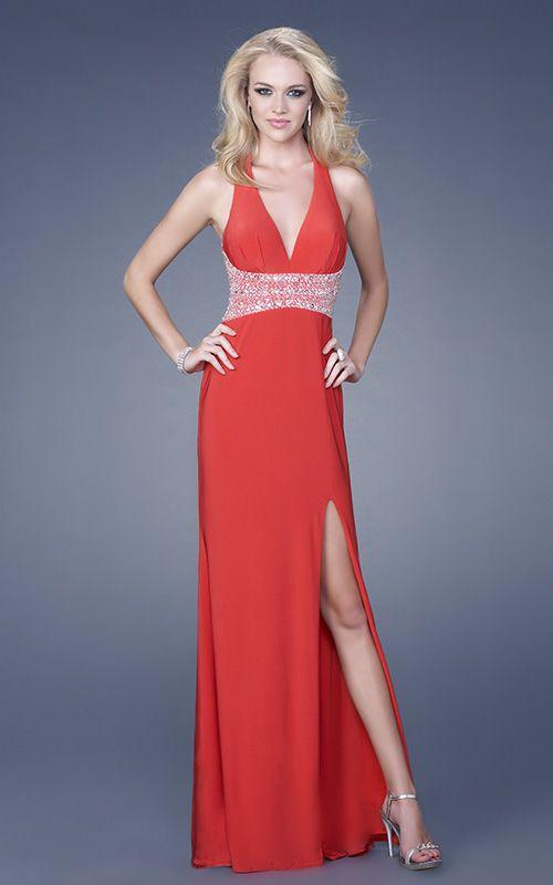 24 besten Red Evening Dresses Bilder auf Pinterest | Lange ...