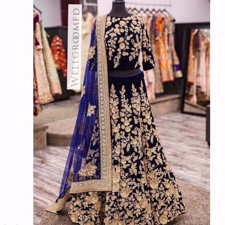DESIGNER TRADITIONAL BOLLYWOOD LEHENGA SAREE WEDDING LEHENGA SARI LEHENG CHOLI #Handmade #DesignerWeddingLehengaSari #PartywearWeddingFestivalAndEngagementwear
