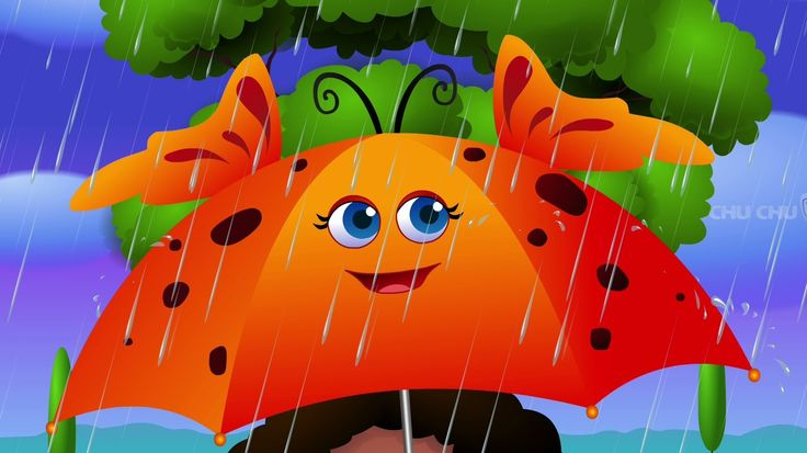 Rain, Rain, Go Away Nursery Rhyme With Lyrics - Cartoon Animation Rhymes & Songs for Children - YouTube