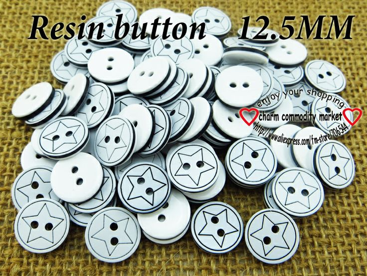 200PCS star design resin shirt button sweater buttons coat sewing crafts R-072-5 $3,73