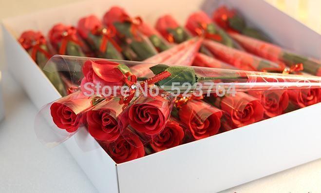 Pvc seule Rose fleur de savon avec le diamant / faveur de mariage Rose fleur de savon / saint valentin / fête des mères / cadeau du jour de l'enseignant dans Accessoires de fêtes et d'évènement de Maison & Jardin sur AliExpress.com   Alibaba Group
