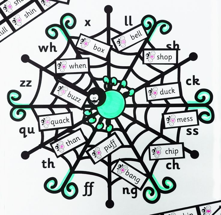 Reinforce your students' grapheme recognition with this free, quirky Halloween resource - Grapheme Spider Web!
