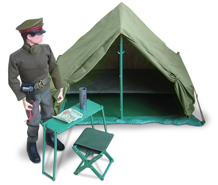 Action Man field tent