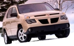 I love my Pontiac Aztek. I wish they'd make me one more.  We love ours too!
