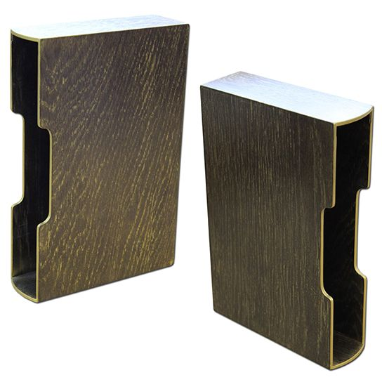 Слипкейс из дерева для книги