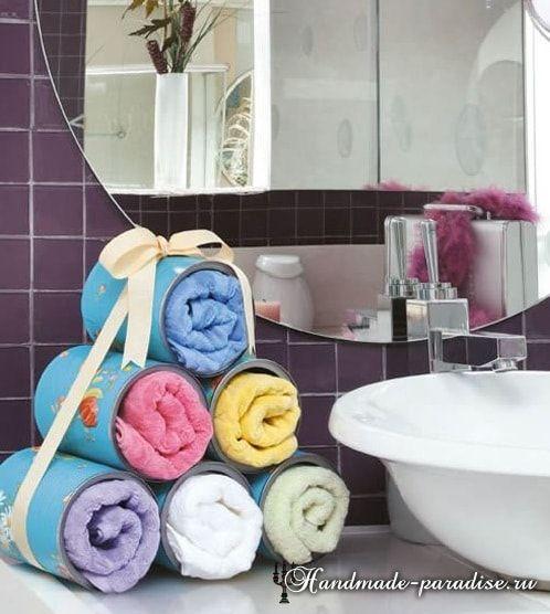 Железные банки в интерьере. 4 идеи примененияв ванной комнате, на кухне и в кабинете.Ведь этоздорово, использоватьненужные вещи и дарить им новую жизнь!