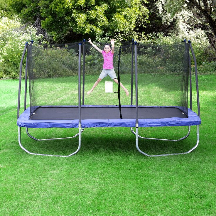 Texas Trampoline Extreme Green 15 X 17 Ft Rectangle With: The 25+ Best Rectangle Trampoline Ideas On Pinterest